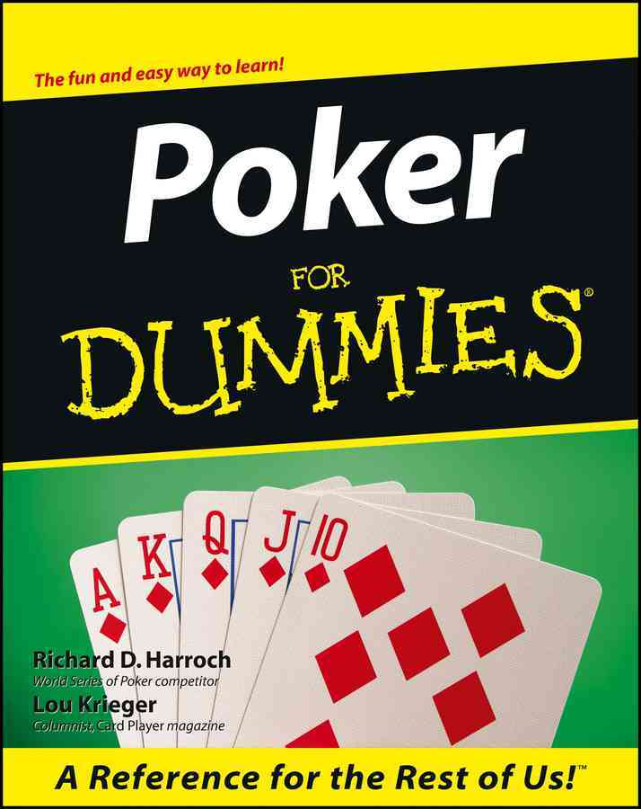 Poker for Dummies By Harroch, Richard/ Krieger, Lou